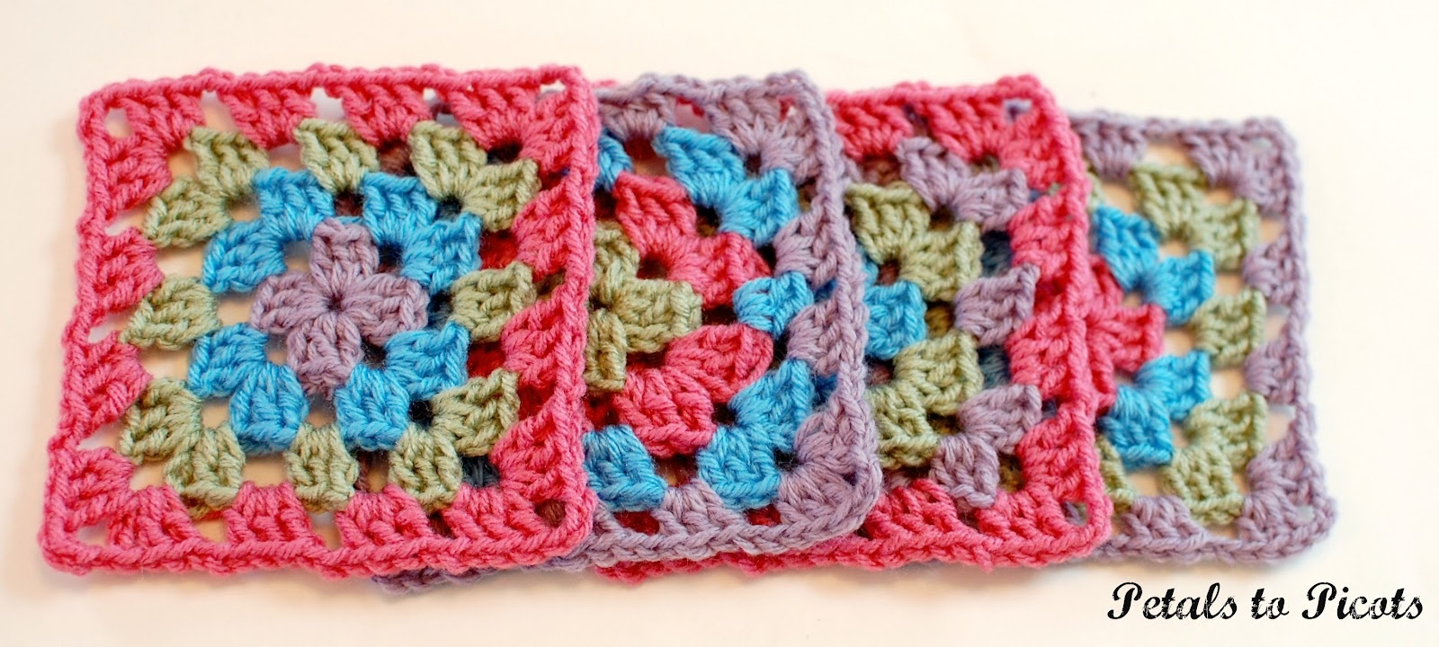How To Crochet A Classic Granny Square: Granny Square Pattern - Free Printable Crochet Granny Square Patterns