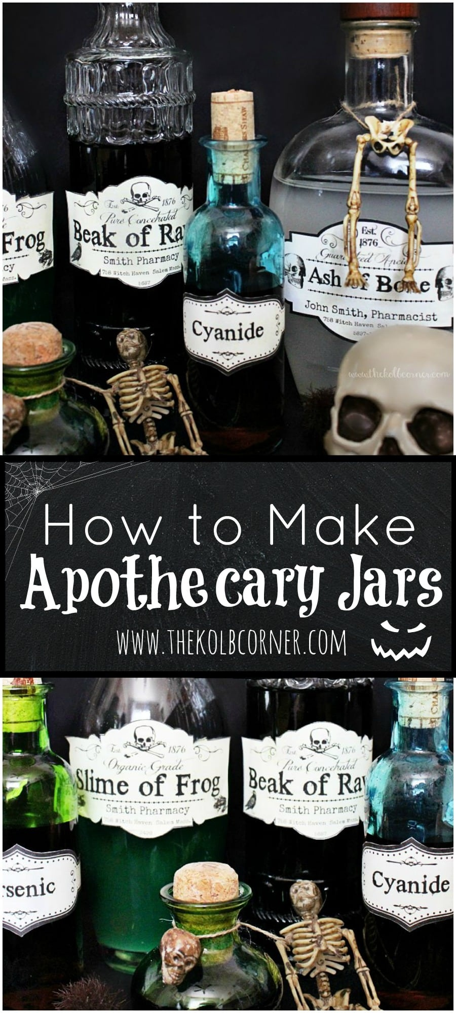 How To Make Apothecary Jars And Free Printable Labels | Domestically - Free Printable Apothecary Jar Labels