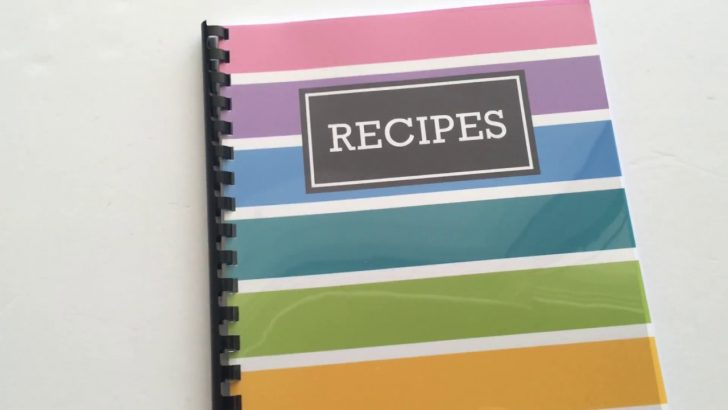 Free Printable Recipe Book Pages