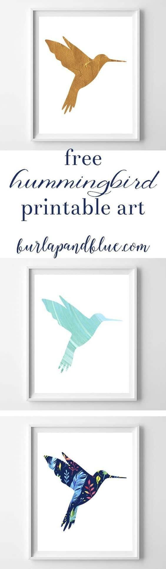 Hummingbird Art {3 Free Printable Designs} - Free Printable Pictures Of Hummingbirds