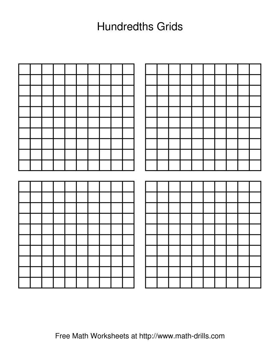 Hundreds Grid Paper - Tutlin.psstech.co - Free Printable Hundreds Chart