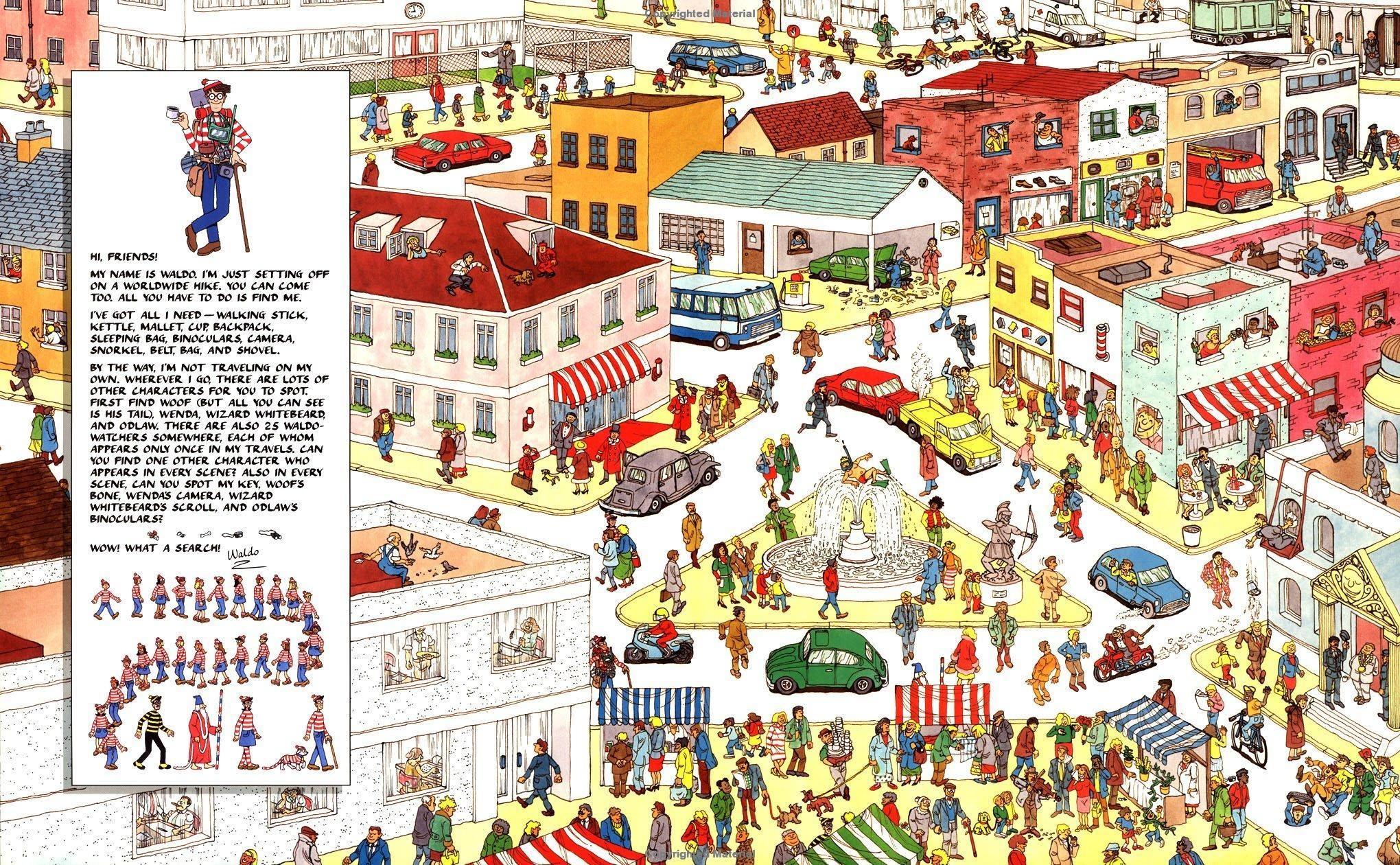 """I Made """"where's Waldo?"""" Album For You All! - Album On Imgur - Where Waldo Printable Free"""