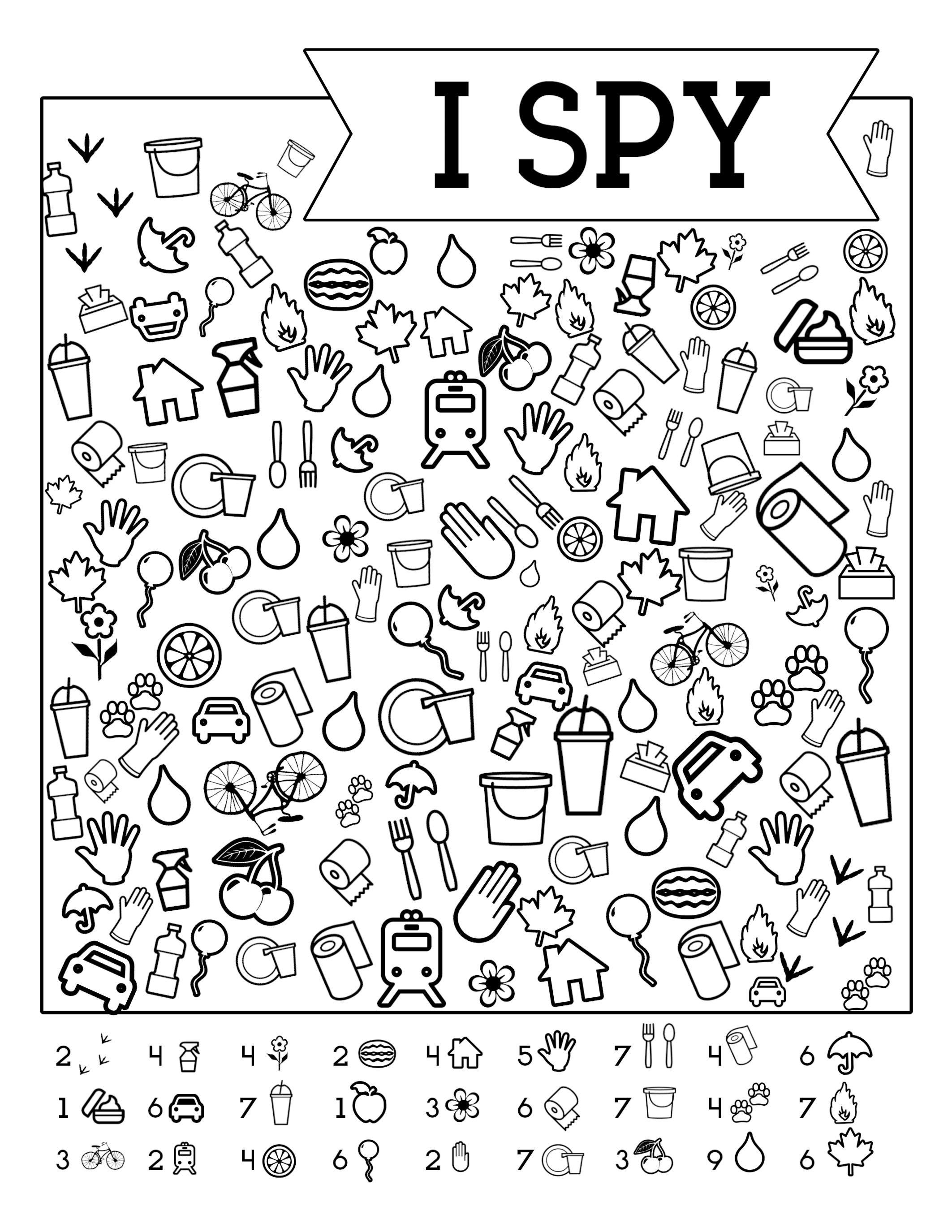 I-Spy-Free-Printable-Kids-Game | Spy School Camp | Spy Games For - Free Printable Activities For Kids