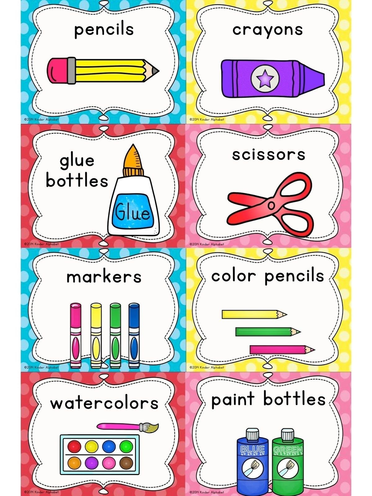 If You've Ever Wanted To Make Those Cute Labels Or Tags You See On - Free Printable Classroom Labels With Pictures