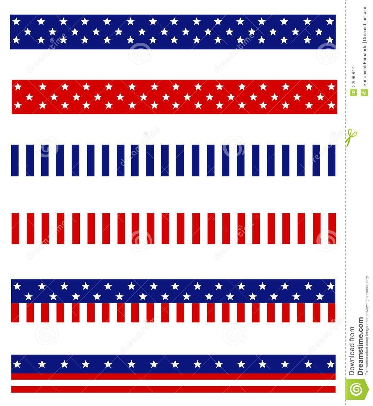 Image Result For Patriotic Borders Free Printable | Patriotic - Free Printable Christmas Bulletin Board Borders