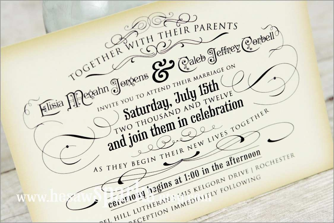 Inspirational Wedding Invitation Templates Free Download | Best Of - Free Printable Wedding Invitations Templates Downloads