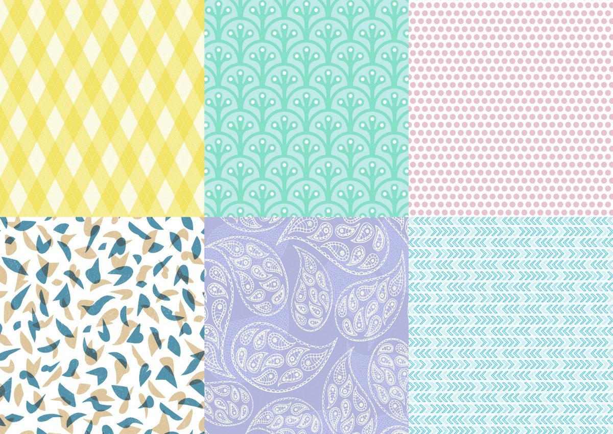 Instant Wrapping Paper: Free Downloadable Gift Wrap - Myria - Free Printable Easter Wrapping Paper