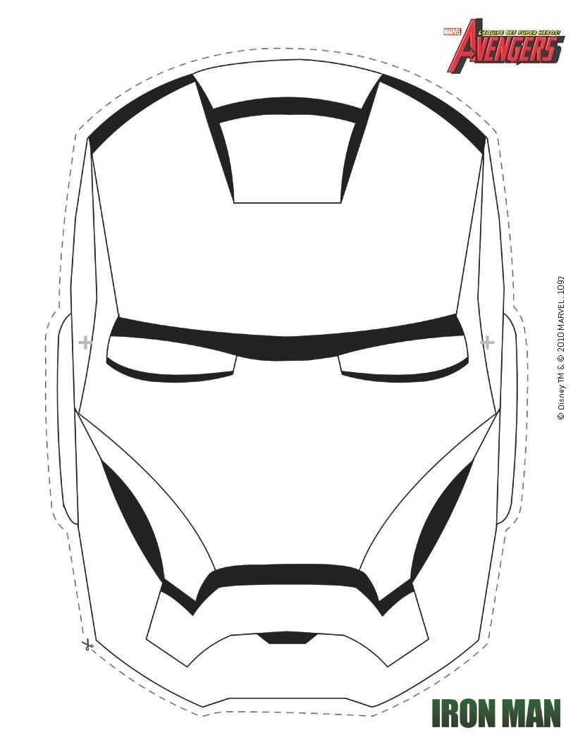 Iron Man Mask For Evan @susie Harty | Borth Doy | Iron Man, Boy - Free Printable Ironman Mask