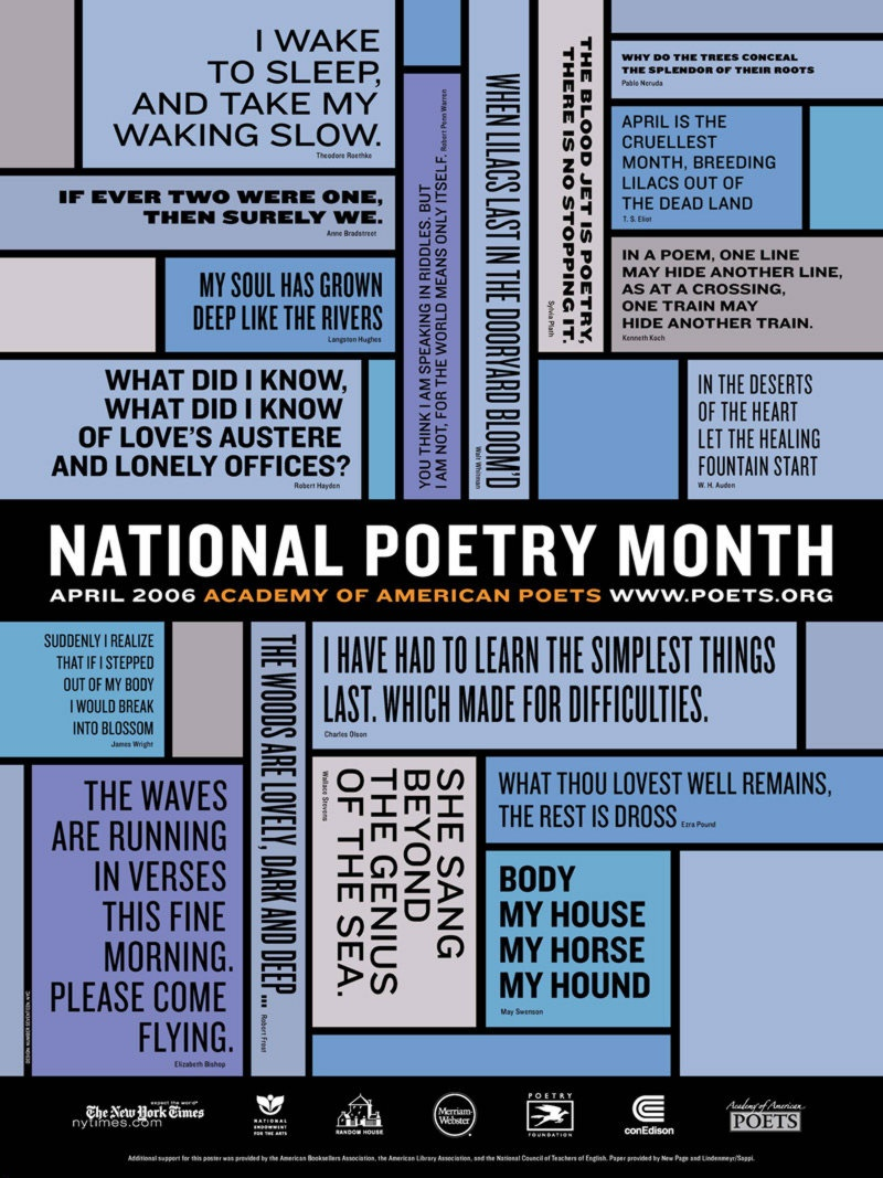 It's Springtime: Write A Poem. - Free Printable Poetry Posters