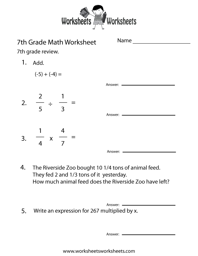 Ixl – Sixth Grade Math Practice, Sixth Grade Here Is A List Of All - Free Printable 7Th Grade Math Worksheets