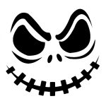 Jack Skellington Pumpkin | Cricut Cutter Ideas | Halloween Pumpkin   Free Printable Pumpkin Stencils