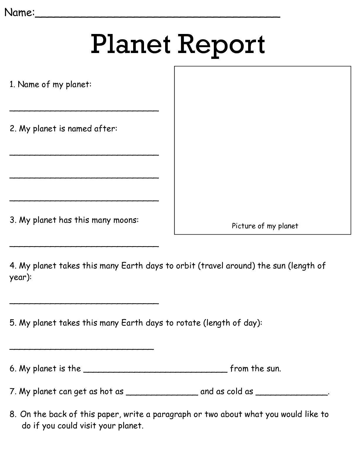 Job Worksheets 5Th &6Th | Science Worksheets Science Worksheets - Free Printable Science Worksheets