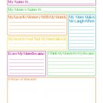 Joyously Domestic: Free Mother's Day Questionnaire Printable   Free Printable Mother's Day Questionnaire