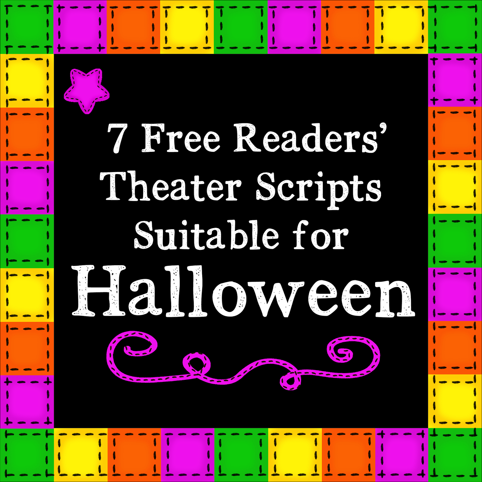 Kbkonnected Clips: 7 Free Readers' Theater Scripts For Halloween - Free Printable Halloween Play Scripts