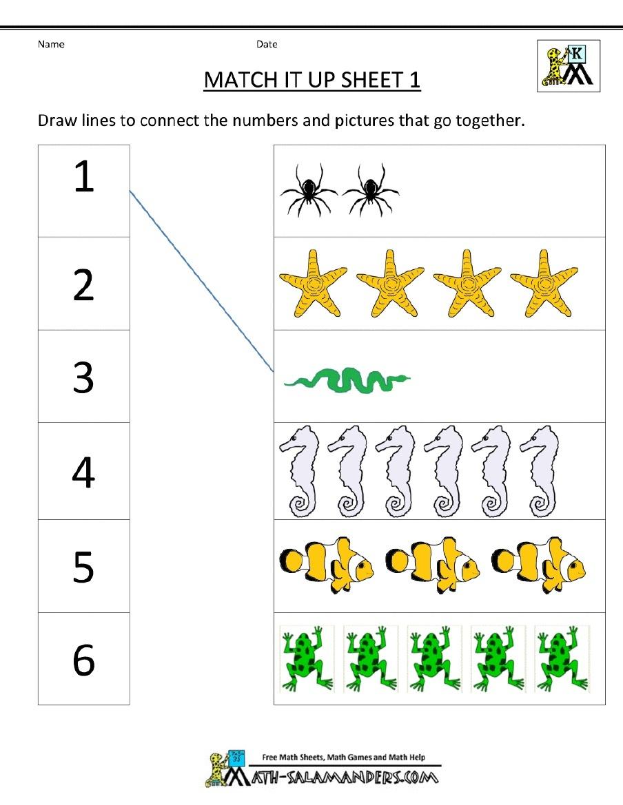 Kindergarten: Kindergarten Math Printables. Free Art Ideas For - Free Printable Kindergarten Math Activities