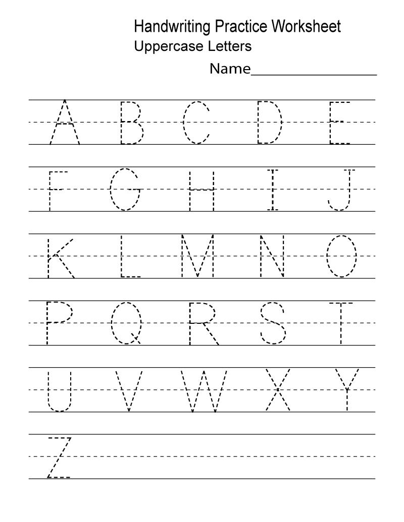 Kindergarten Worksheets Pdf Free Download Handwriting | Learning - Free Printable Name Worksheets For Kindergarten