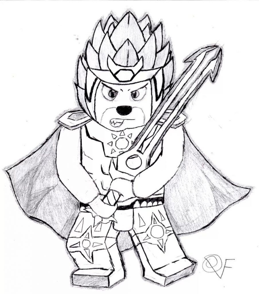 Laval Chima Coloring Pages – Chronicles Network Intended For Lego - Free Printable Lego Chima Coloring Pages