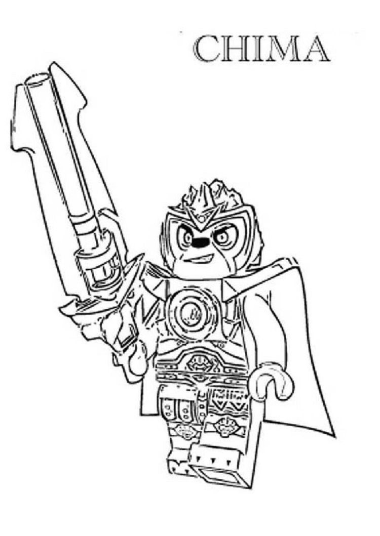 Lego Chima Coloring Pages Lion   Coloring Pages For Kids   Lego - Free Printable Lego Chima Coloring Pages