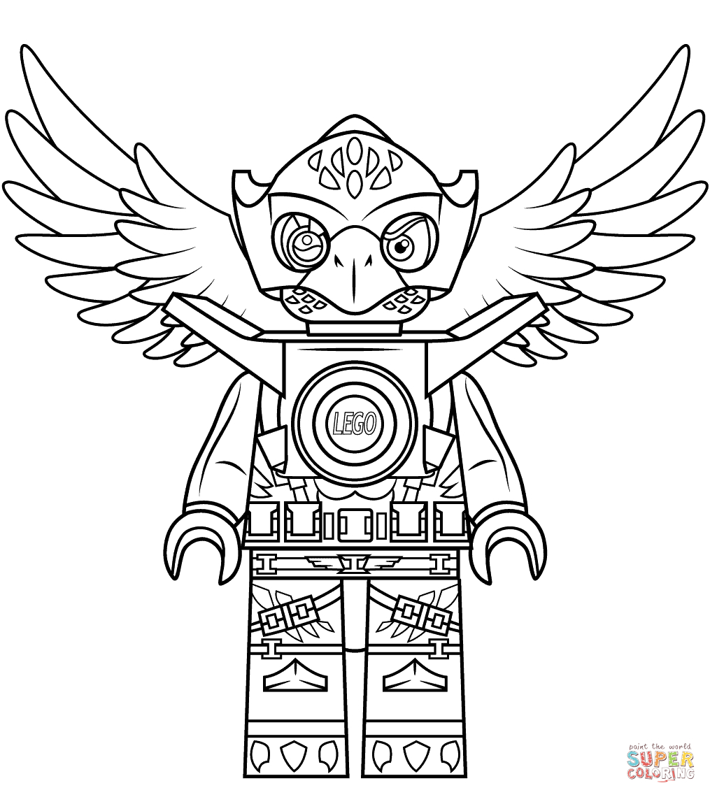 Lego Chima Eagle Eris Coloring Page   Free Printable Coloring Pages - Free Printable Lego Chima Coloring Pages