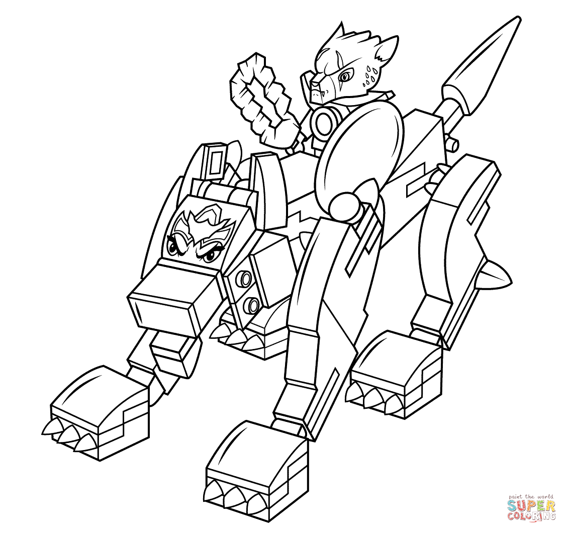 Lego Chima Wolf Coloring Page   Free Printable Coloring Pages - Free Printable Lego Chima Coloring Pages