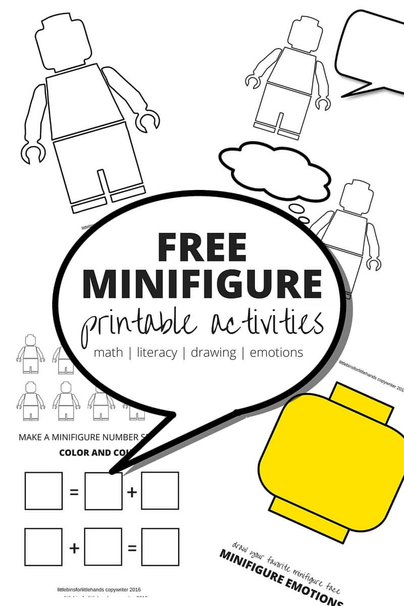 Lego Learning Pages Free Printables For Kids - Free Printable Learning Pages