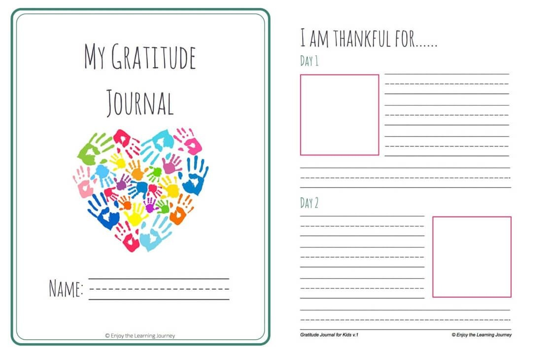 Let's Choose To Be Grateful! Free Printable 31-Day Gratitude Journal - Free Printable Gratitude Worksheets