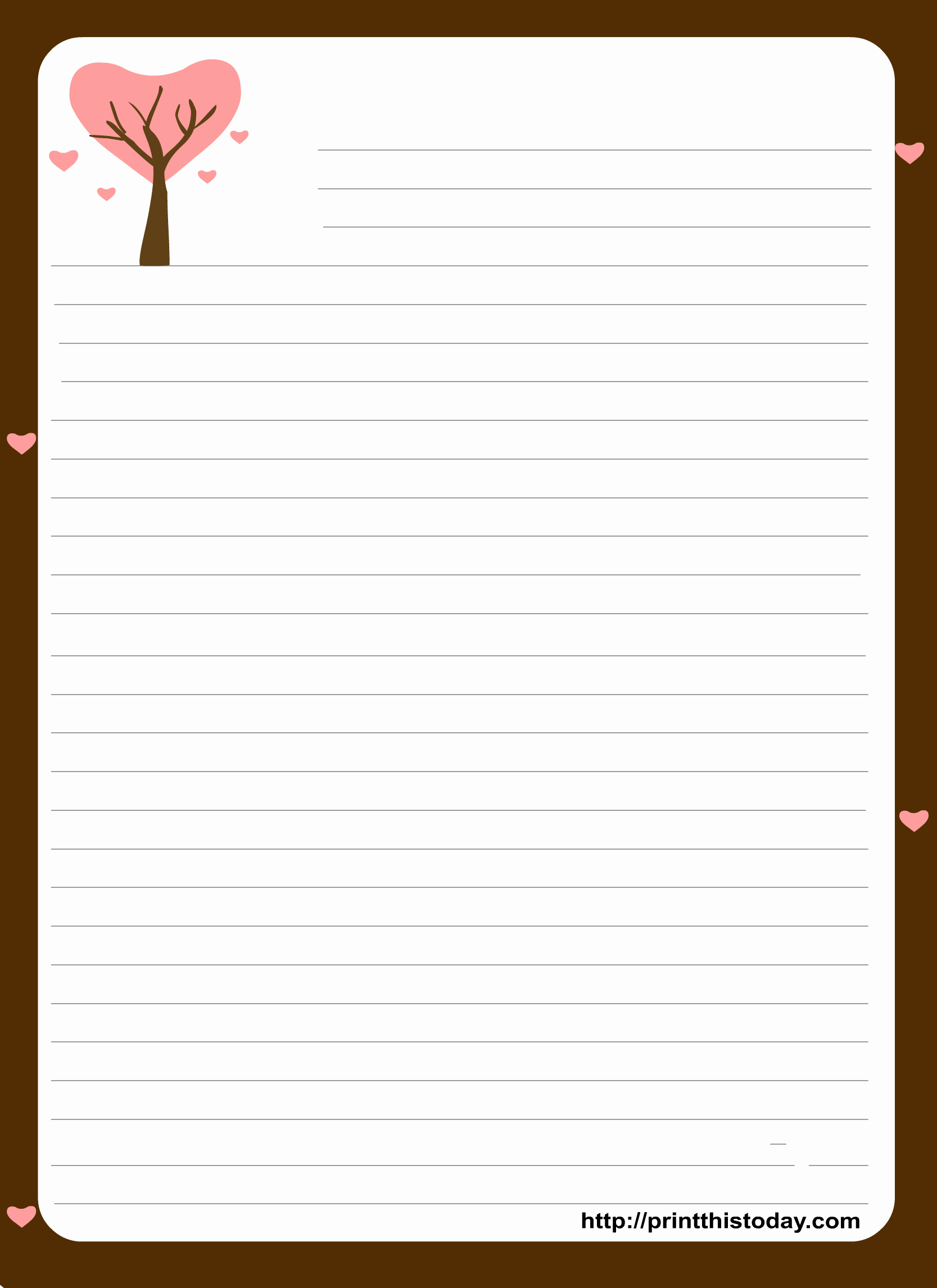 Letterhead And Stationary Free Printable Stationery Paper Free - Free Printable Stationery Writing Paper