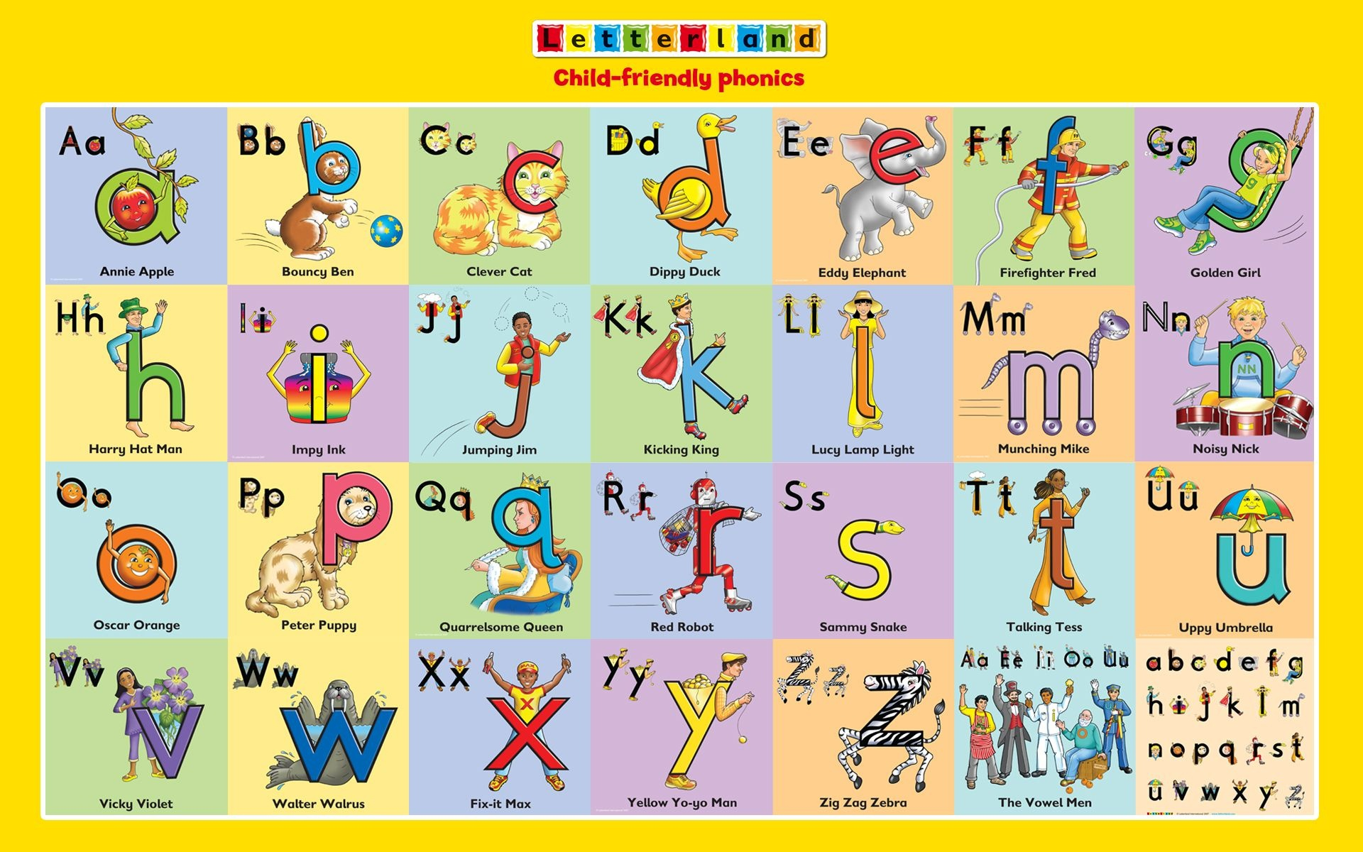 Letterland Characters | To Do - With Camille | Teaching Kids - Letterland Worksheets Free Printable