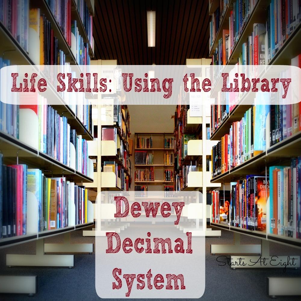 Life Skills: Using The Library - Dewey Decimal System - Startsateight - Free Library Skills Printable Worksheets