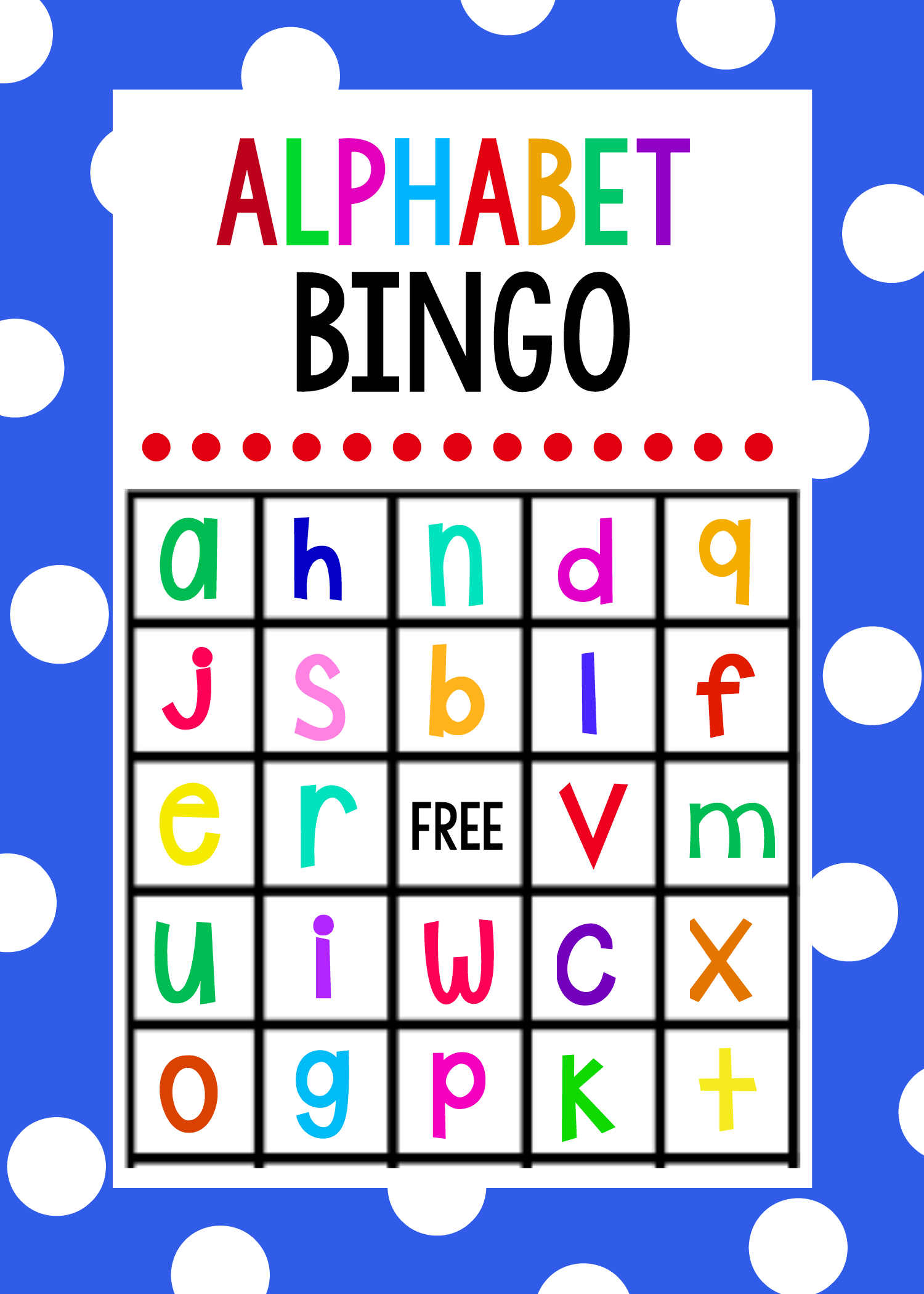 Lowercase Alphabet Bingo Game | Alphabet | Actividades De Ingles - Free Printable Alphabet Bingo Cards
