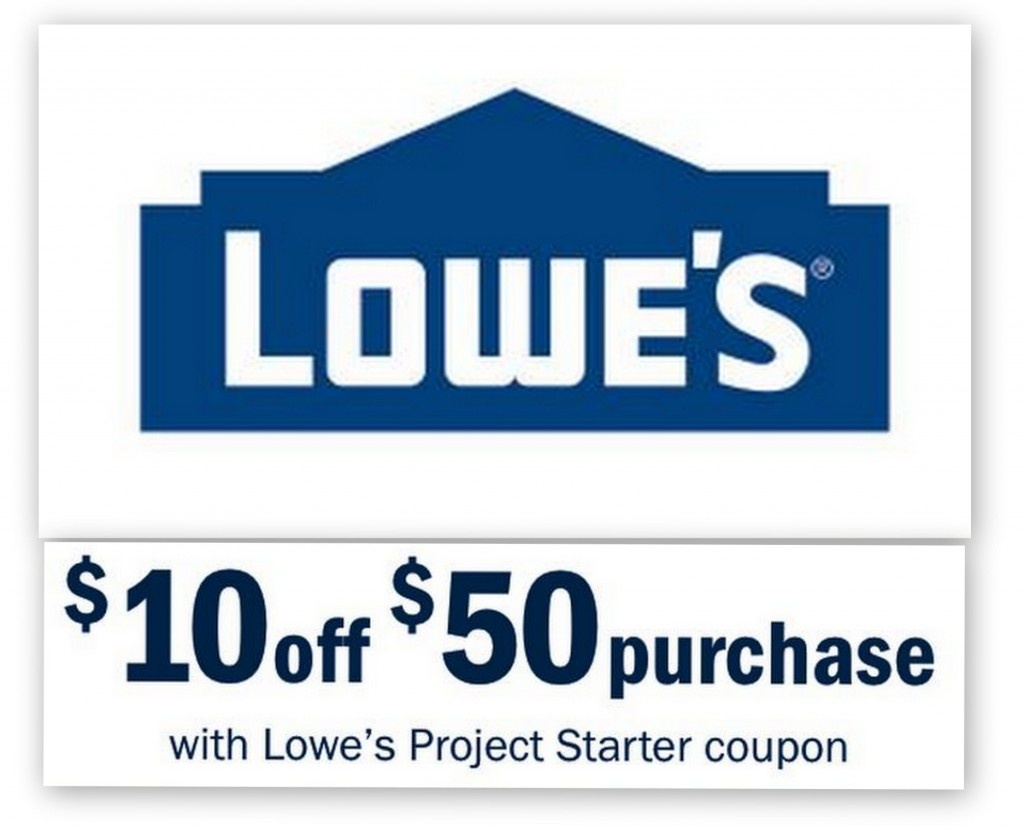 Lowes: $10 Off $50 Entire Purchase Printable Coupon | Common Sense - Lowes Coupons 20 Free Printable