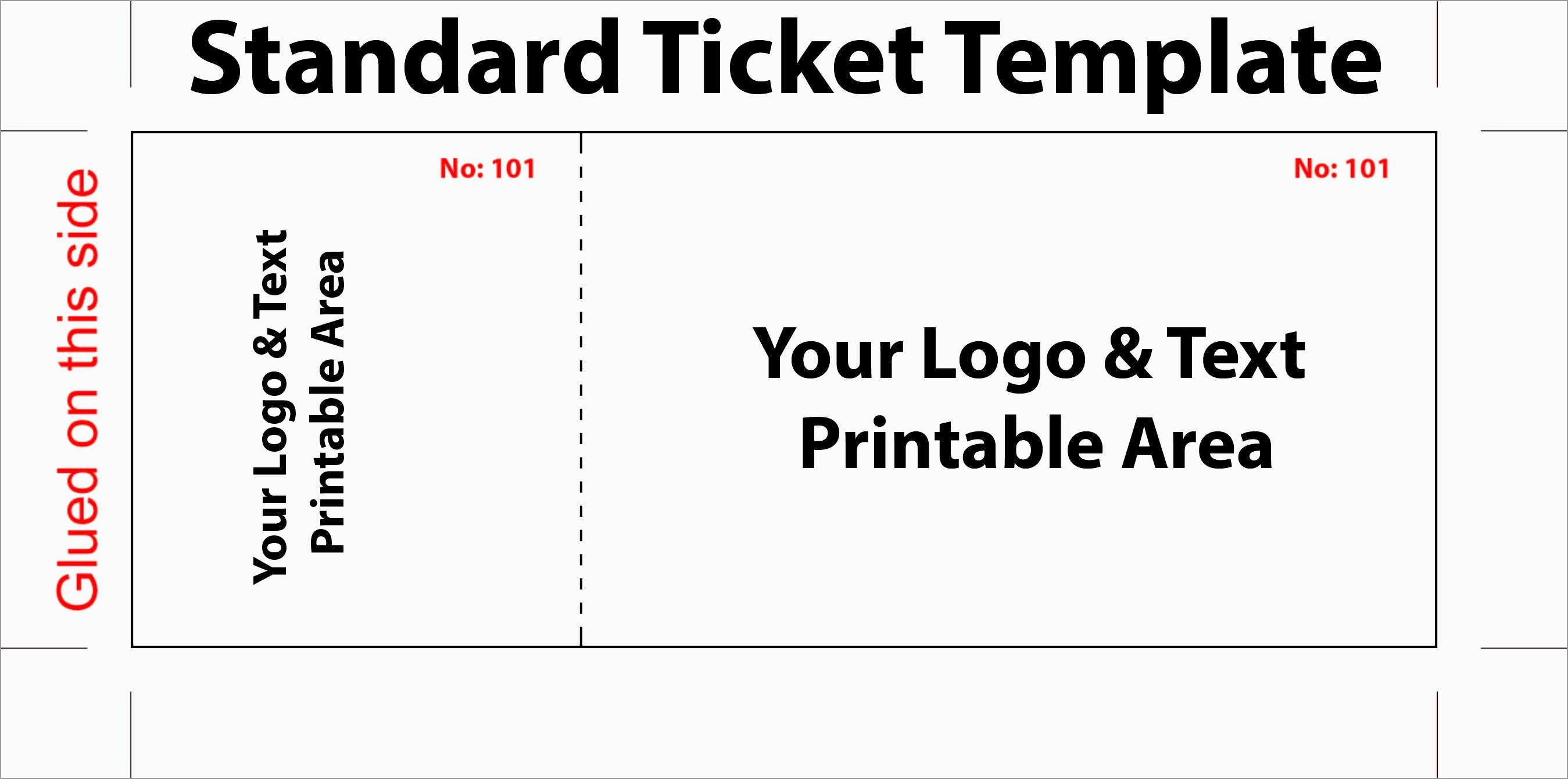 Luxury Free Printable Event Ticket Template | Best Of Template - Free Printable Tickets