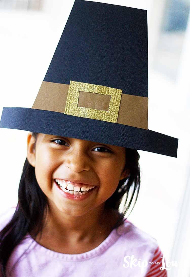Make A Pilgrim Hat {Free Templates} | Skip To My Lou - Free Printable Pilgrim Hat Pattern