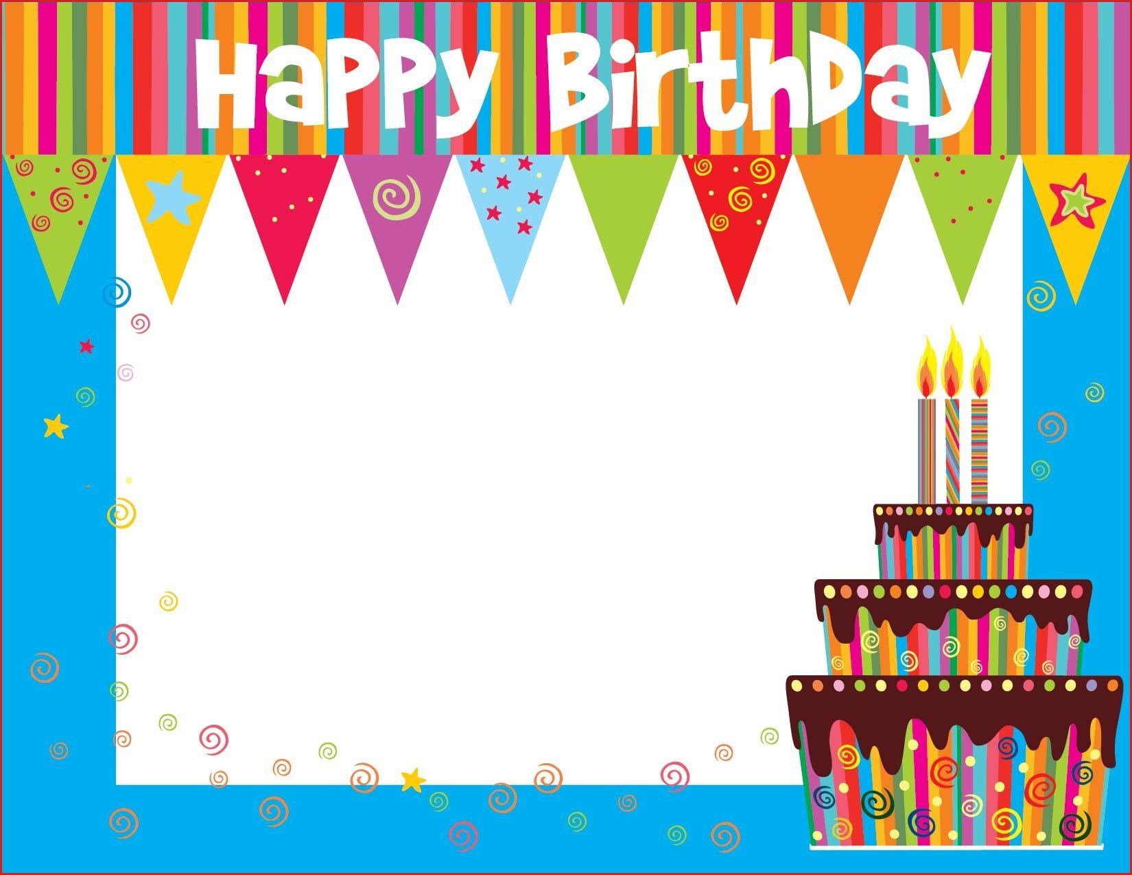Make A Printable Birthday Card Free Printable Birthday Cards For - Free Printable Birthday Cards For Kids