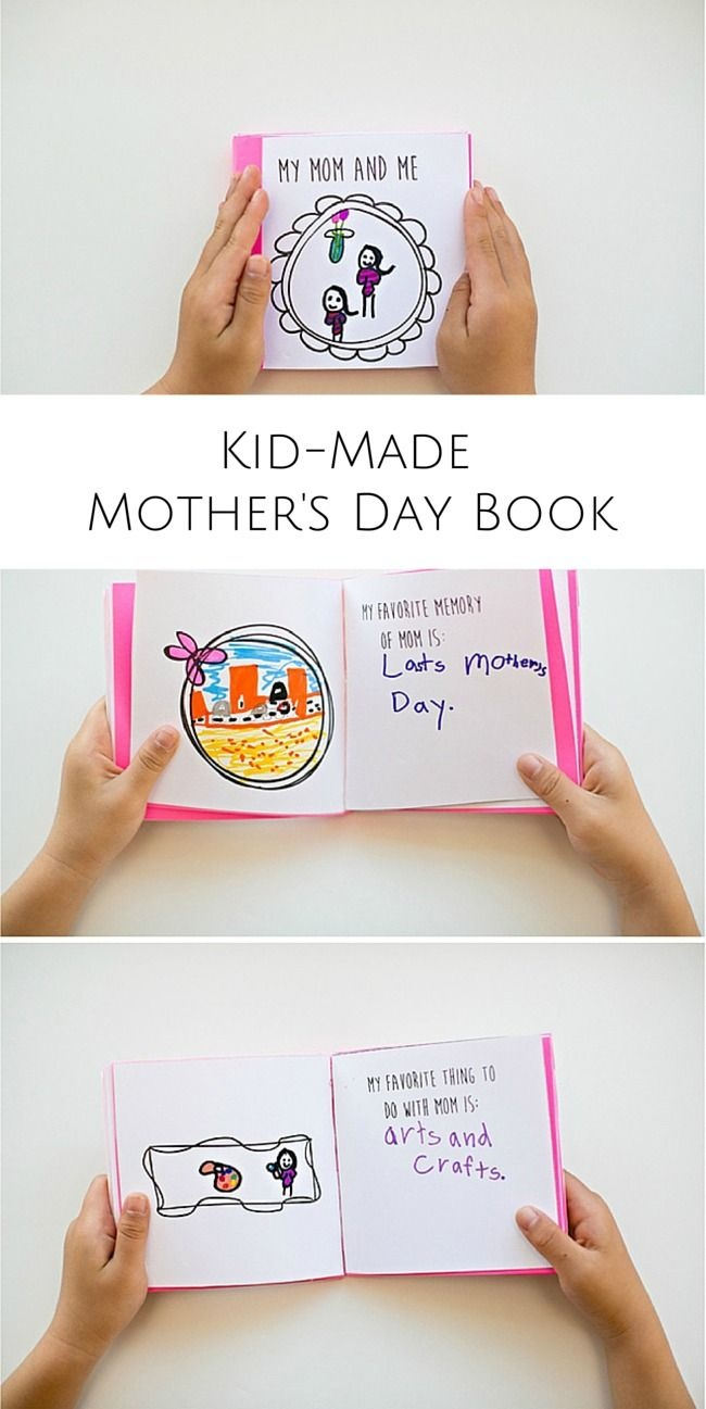Make Mom A Special Mother's Day Book | Mother's Day Ideas | Mothers - Free Printable Personalized Children's Books