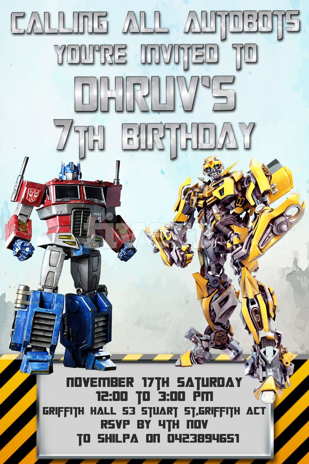 Make Your Design Here | Transformer Party In 2019 | Birthday - Transformers Party Invitations Free Printable
