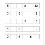 Math Worksheet - Missing Numbers | Maths Worksheets For Kindergarten - Free Printable Missing Number Worksheets