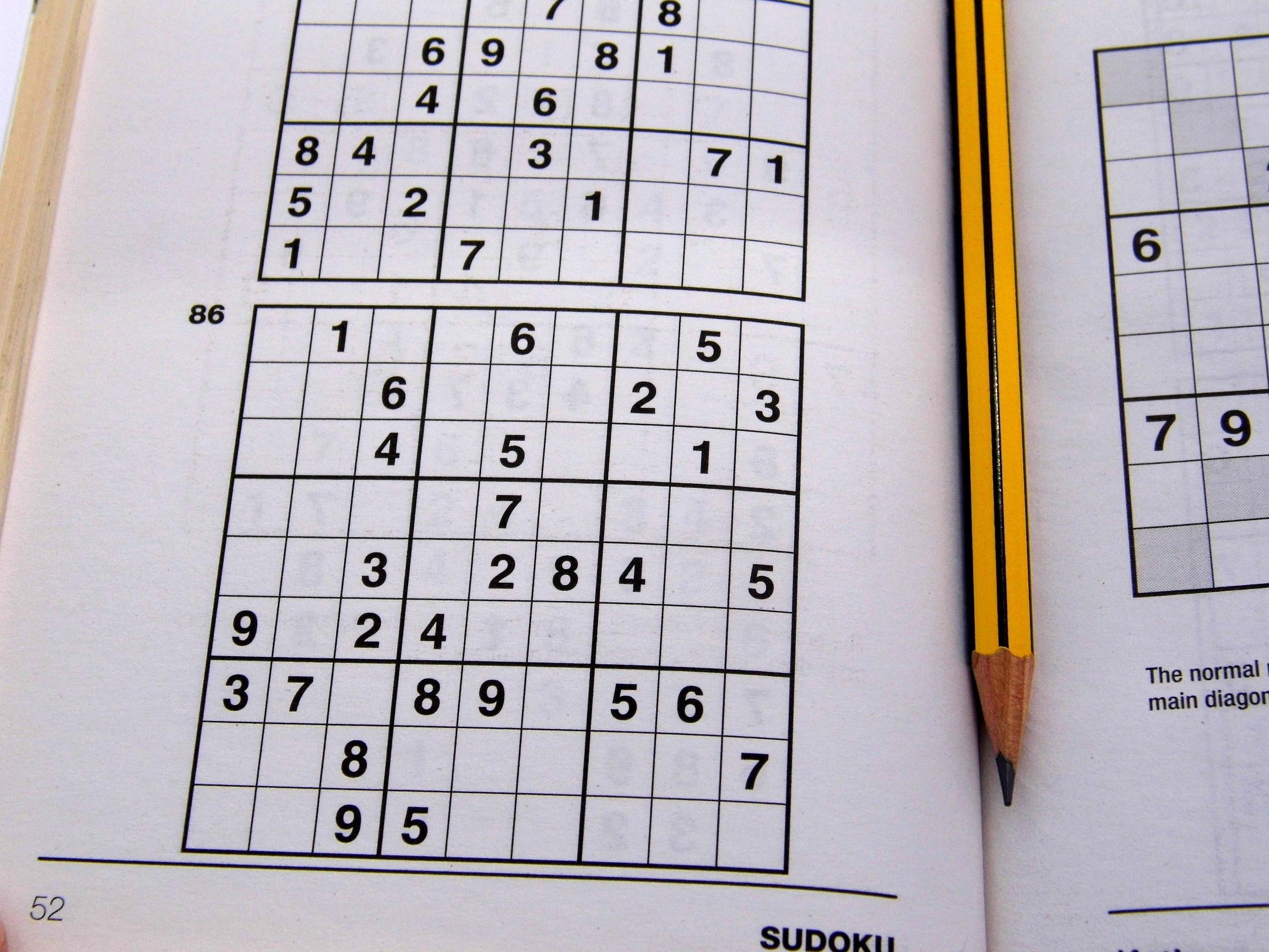 Medium Printable Sudoku Puzzles 6 Per Page – Book 1 – Free Sudoku - Free Printable Sudoku 6 Per Page