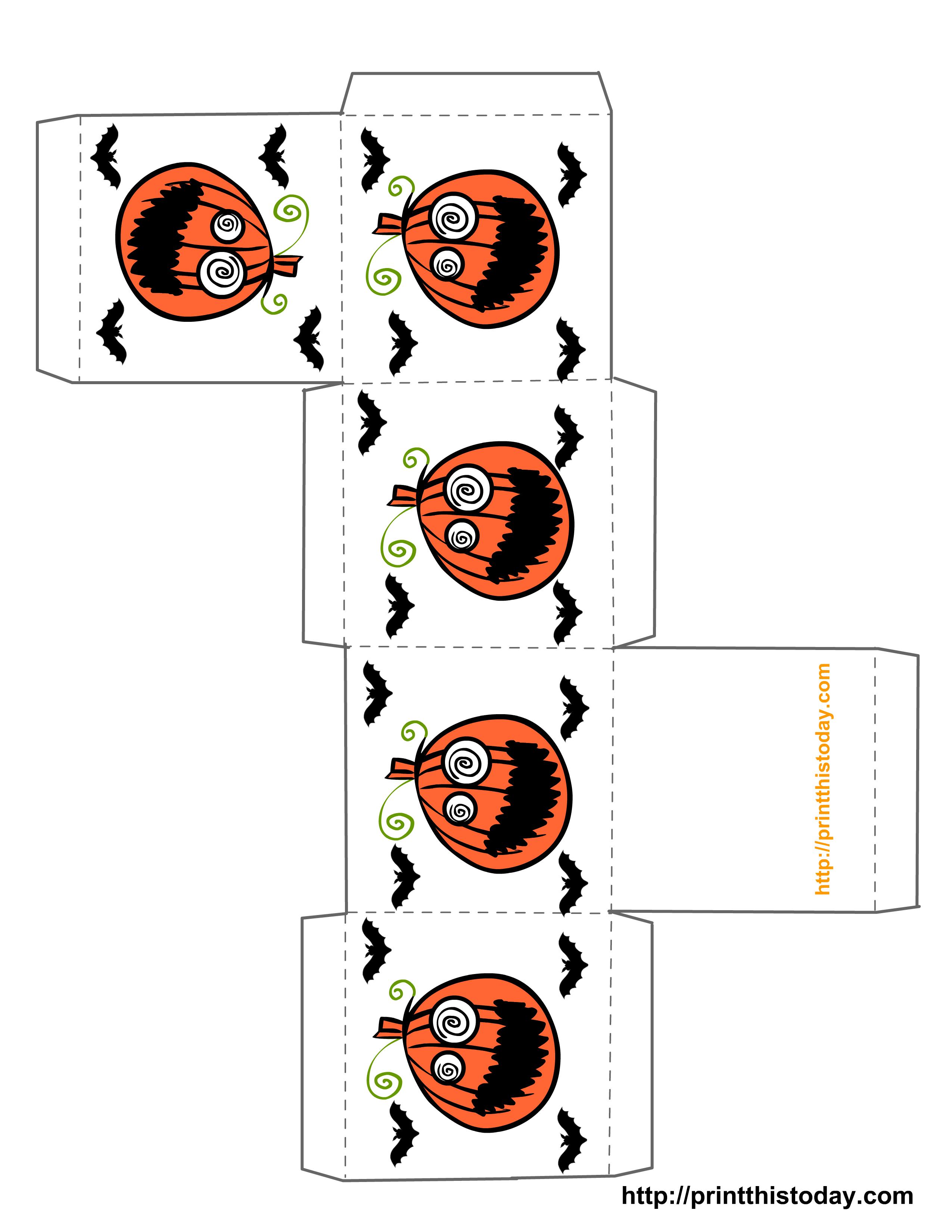 Miniature Halloween Printables | Free Printable Halloween Treat - Free Printable Halloween Paper Crafts