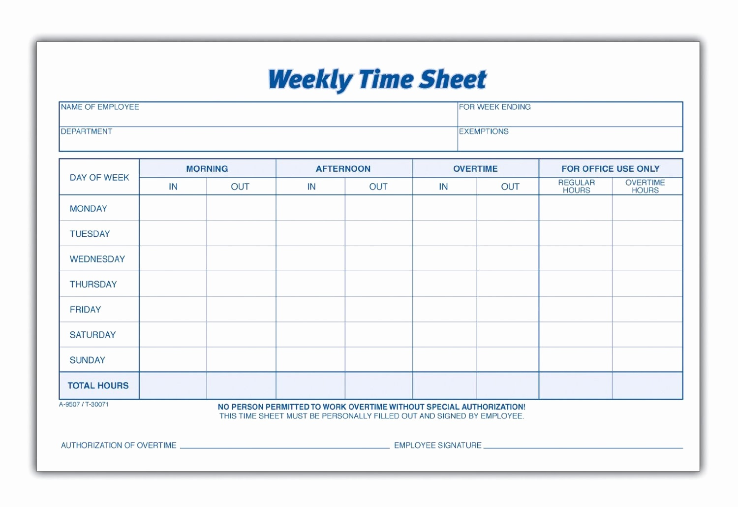 Multiple Employee Timesheet Template Free Then 8 Best Of Blank - Timesheet Template Free Printable