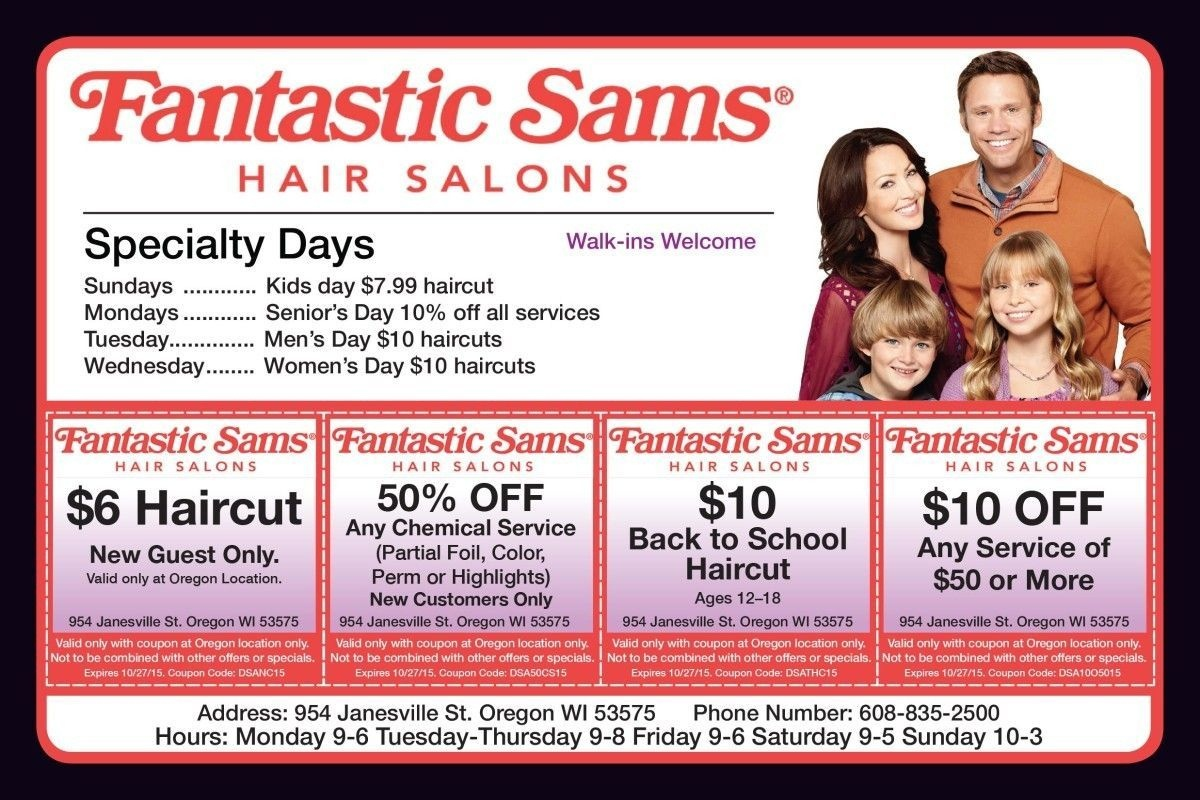 My Fantastic Sams : Escada Margaretha Ley - Free Printable Coupons For Fantastic Sams