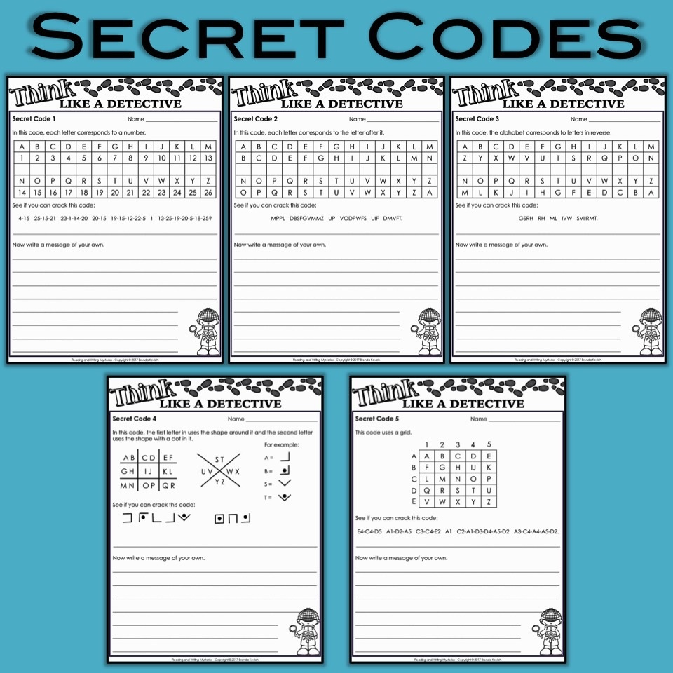 Mystery Activities For Kids - Think Like A Detective! - Free Printable Detective Games