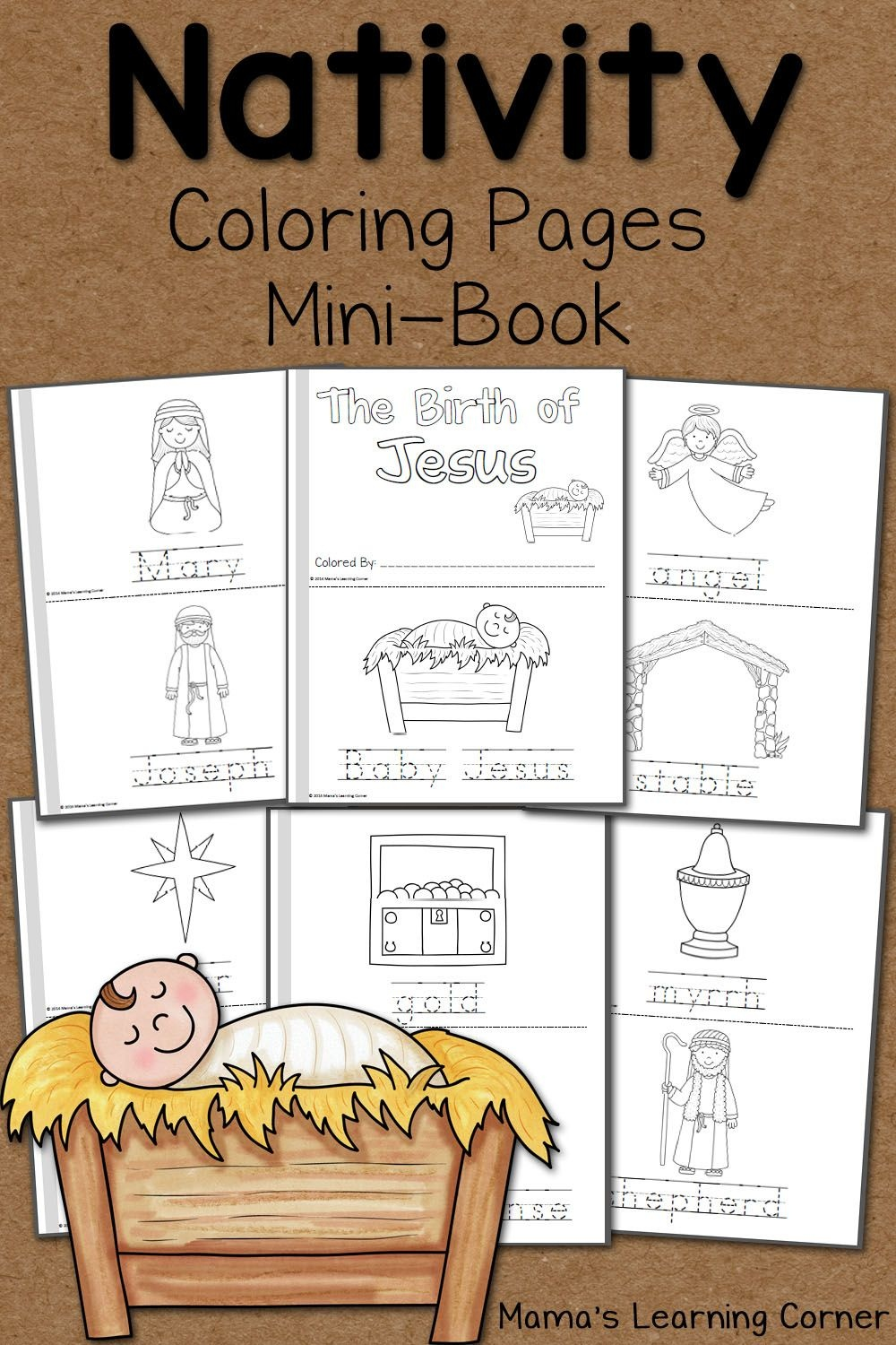 Nativity Coloring Pages   Ultimate Homeschool Board   Nativity - Free Printable Nativity Story Coloring Pages