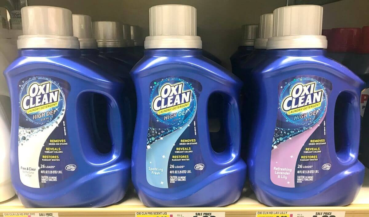 New $2/1 Oxiclean Laundry Detergent Coupon - $0.99 At Walgreens - Free Detergent Coupons Printable