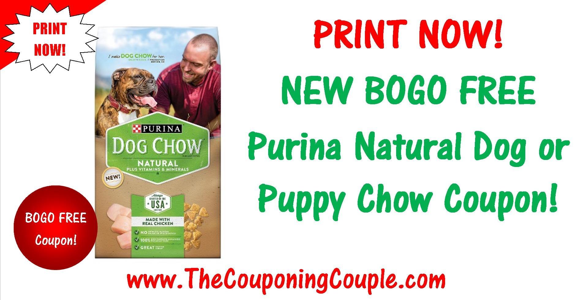 New Bogo Free Purina Natural Printable Coupon ~ Print Now! - Free Printable Coupons For Purina One Dog Food