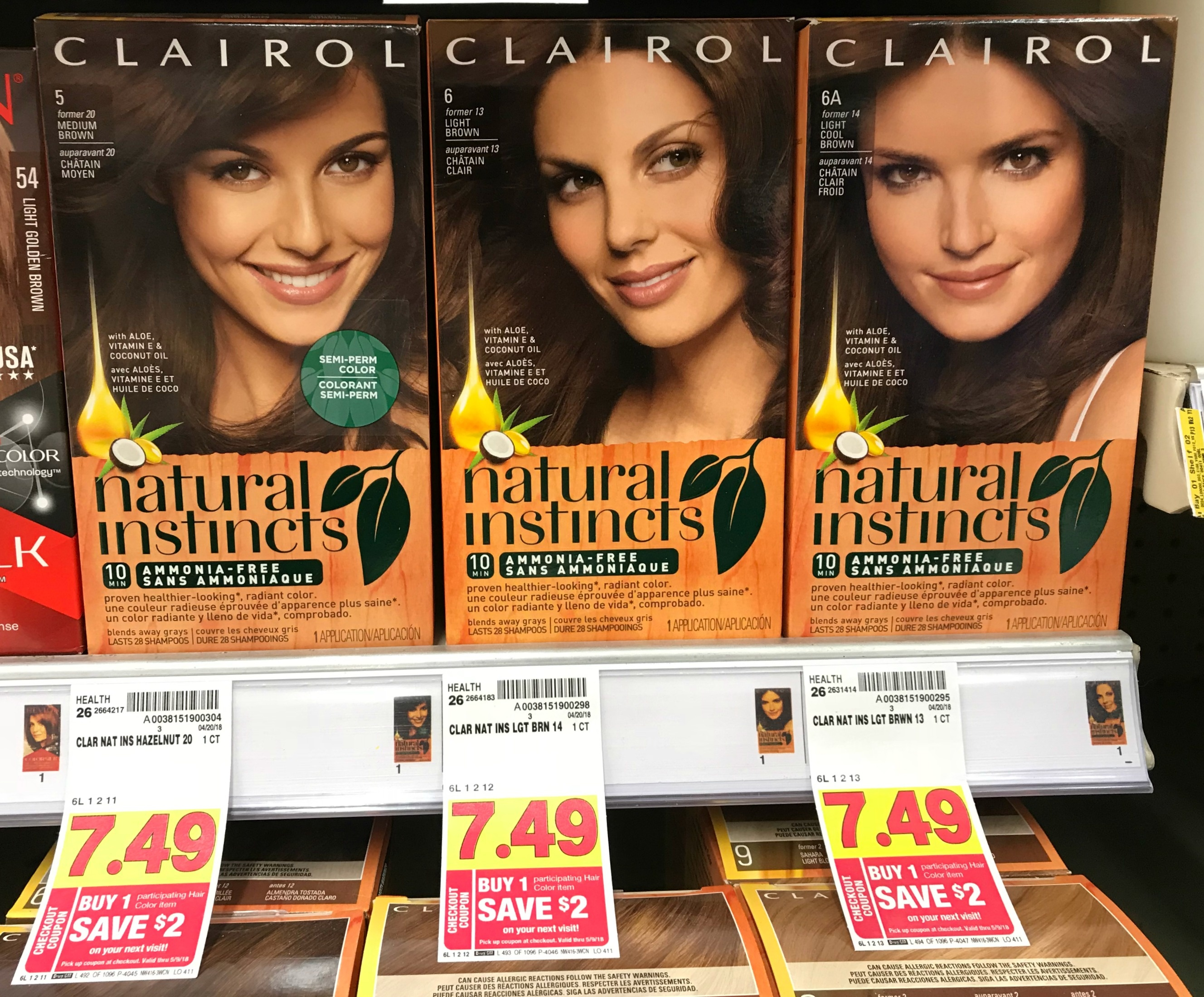 New Clairol Coupon + Catalina = Free Hair Color At Kroger!! | Kroger - Free Hair Dye Coupons Printable