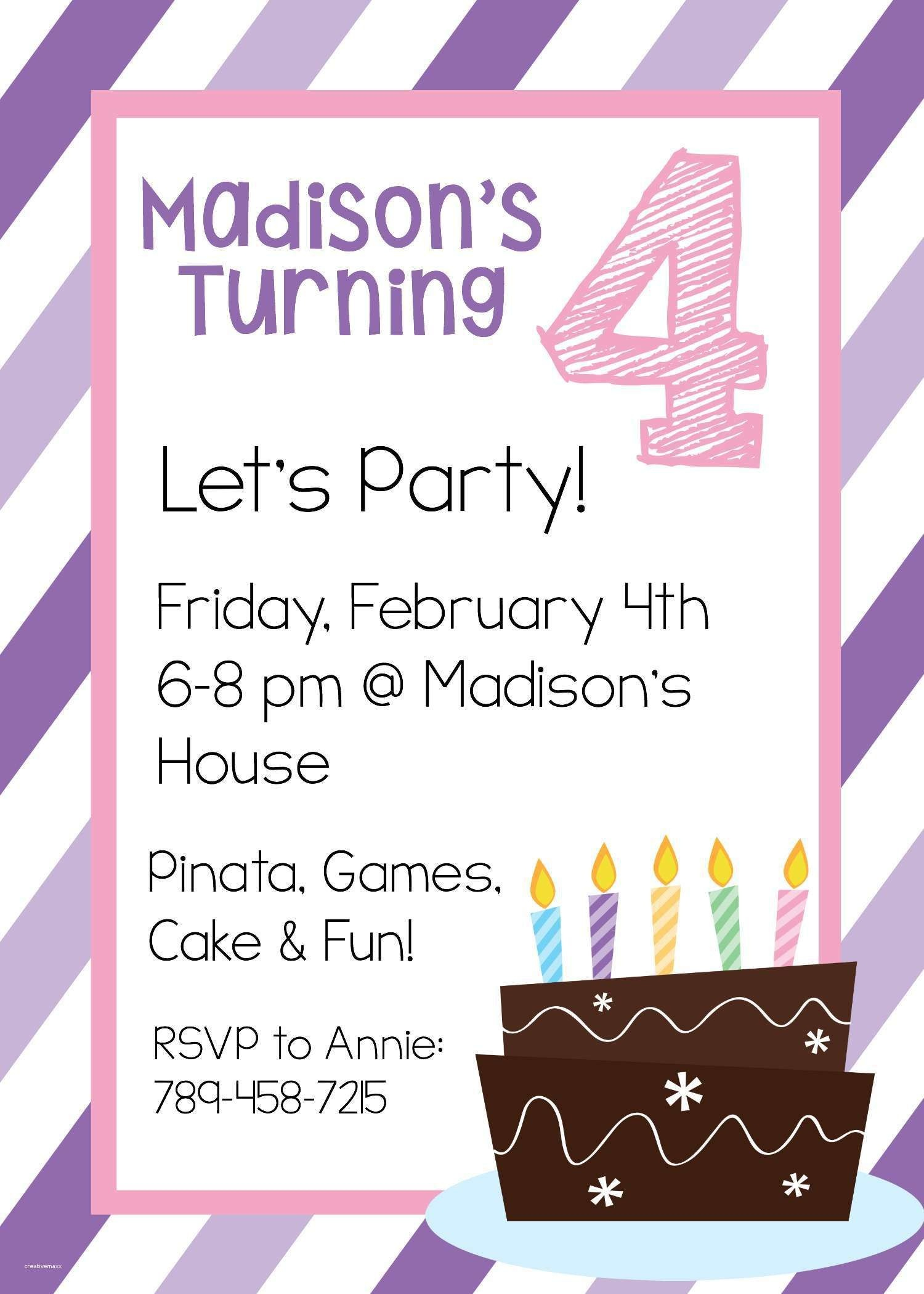 New Free Online Printable Birthday Party Invitations | Holiday - Make Printable Party Invitations Online Free