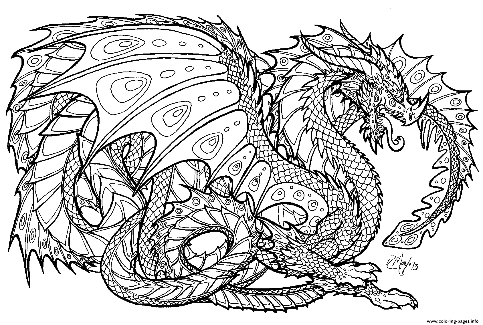 New Free Printable Chinese Dragon Coloring Pages | Coloring Pages - Free Printable Chinese Dragon Coloring Pages
