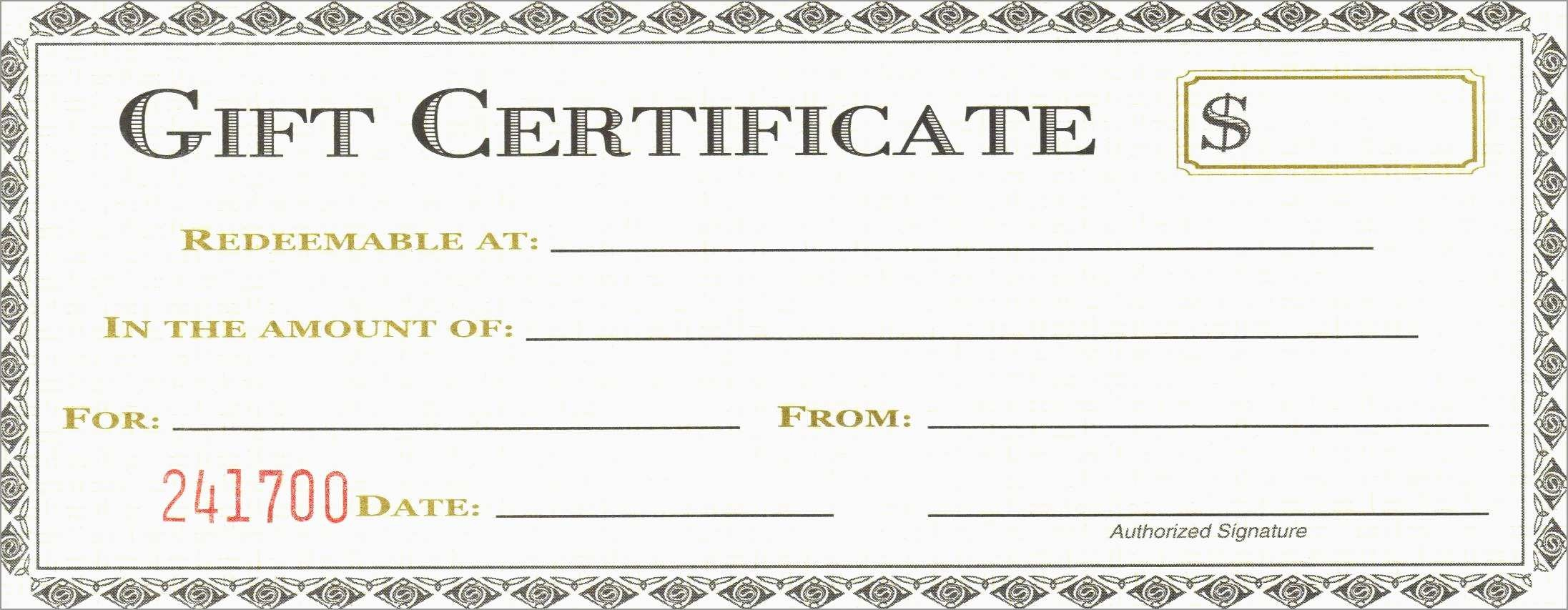 New Free Printable Massage Gift Certificate Templates | Best Of Template - Free Printable Gift Certificate Templates For Massage