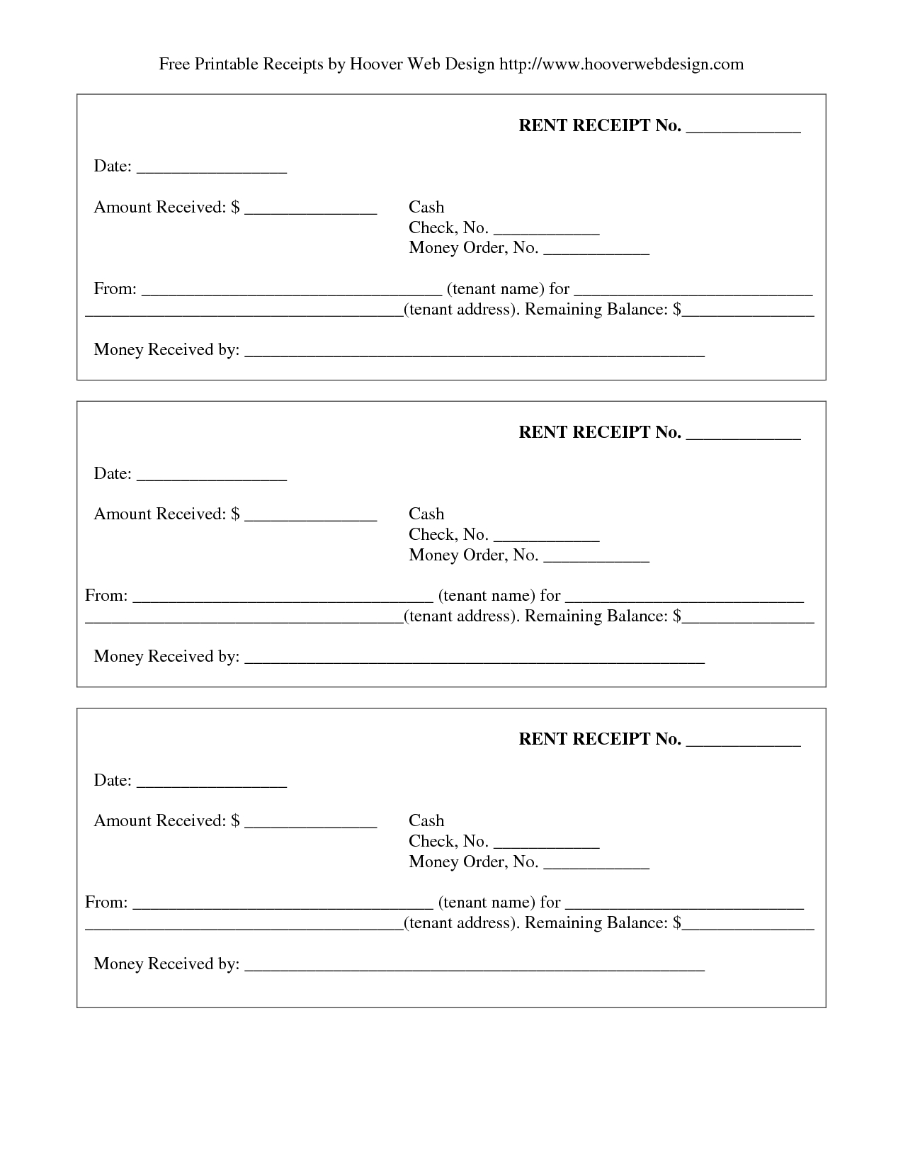 New Free Printable Receipt Templates #xlstemplate #xlsformats - Free Printable Receipt Template